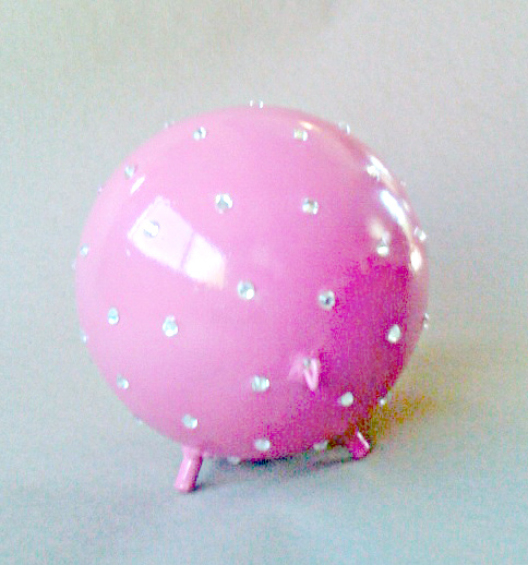 bling pet urn ball