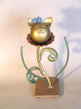 one of a kind sculpture pet urn