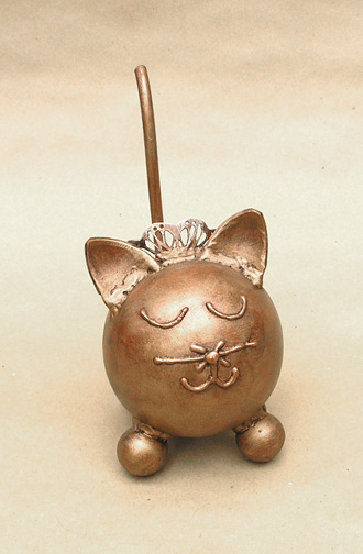 Queenie Kitty Cat Urn