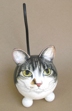 The Painted Kitty Pet Urn 8