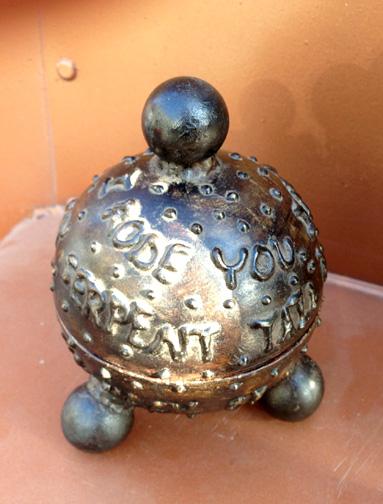 two part vessel pet urn