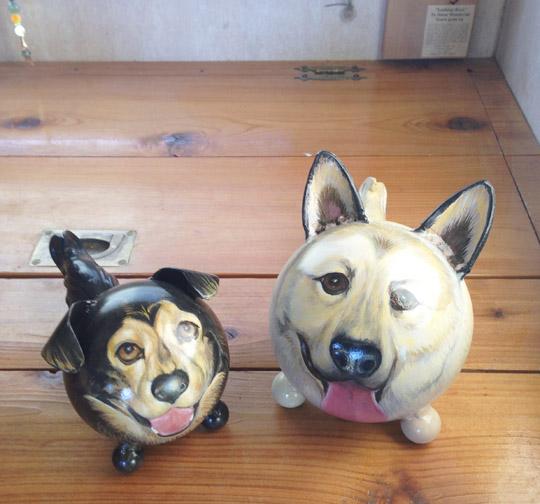 pair of portraits pet urns