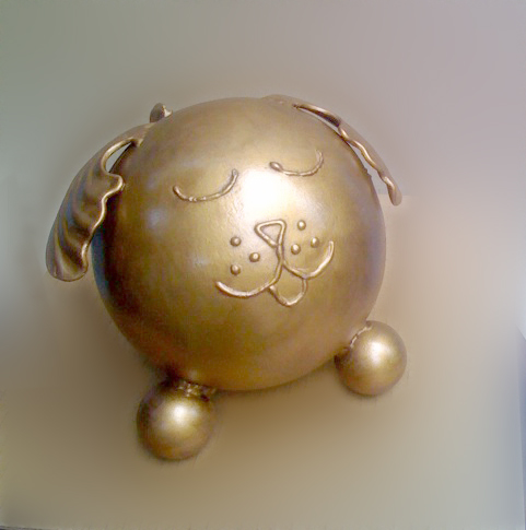 golden retreiver cremation urn