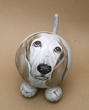 The Painted Puppy Urn 1