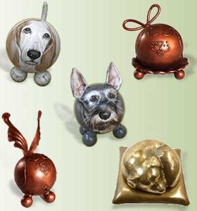 dog memorial urns