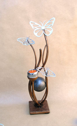 one of a kind butterfly urn
