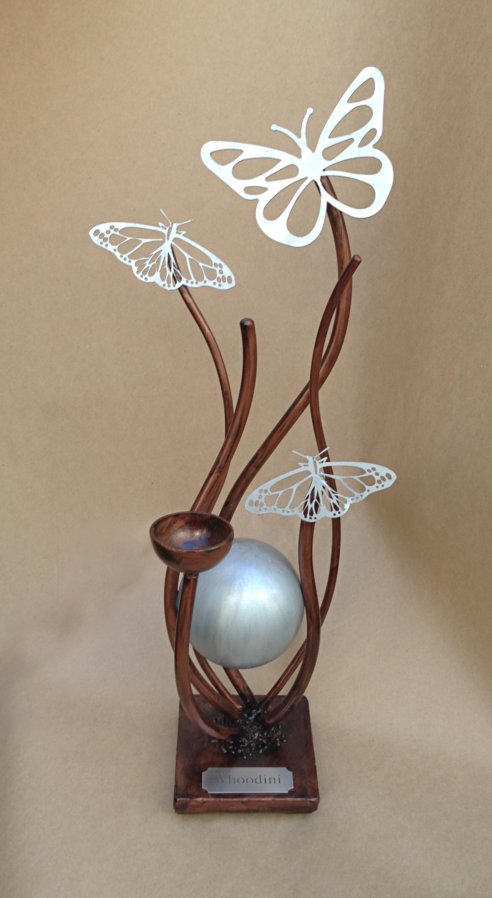 butterfly pet urn