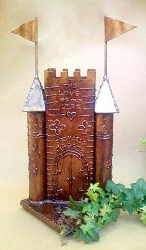 castle urn for pets